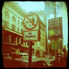No trading