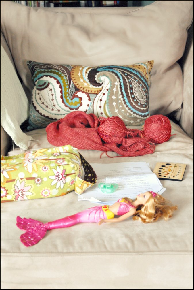 Knitting Work From Home : Never not knitting work at home mom