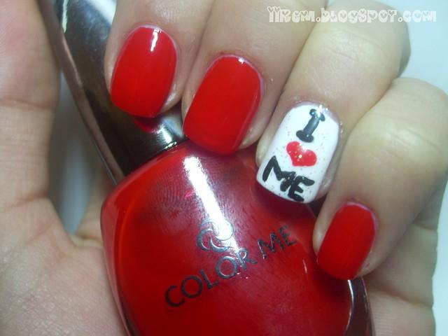 Anti- Sevgililer Günü Manikürü (2)