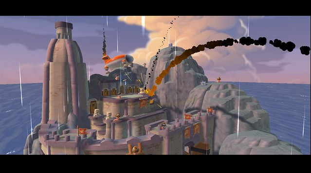 Worms Ultimate Mayhem for PS3: nice_to_siege_you_2