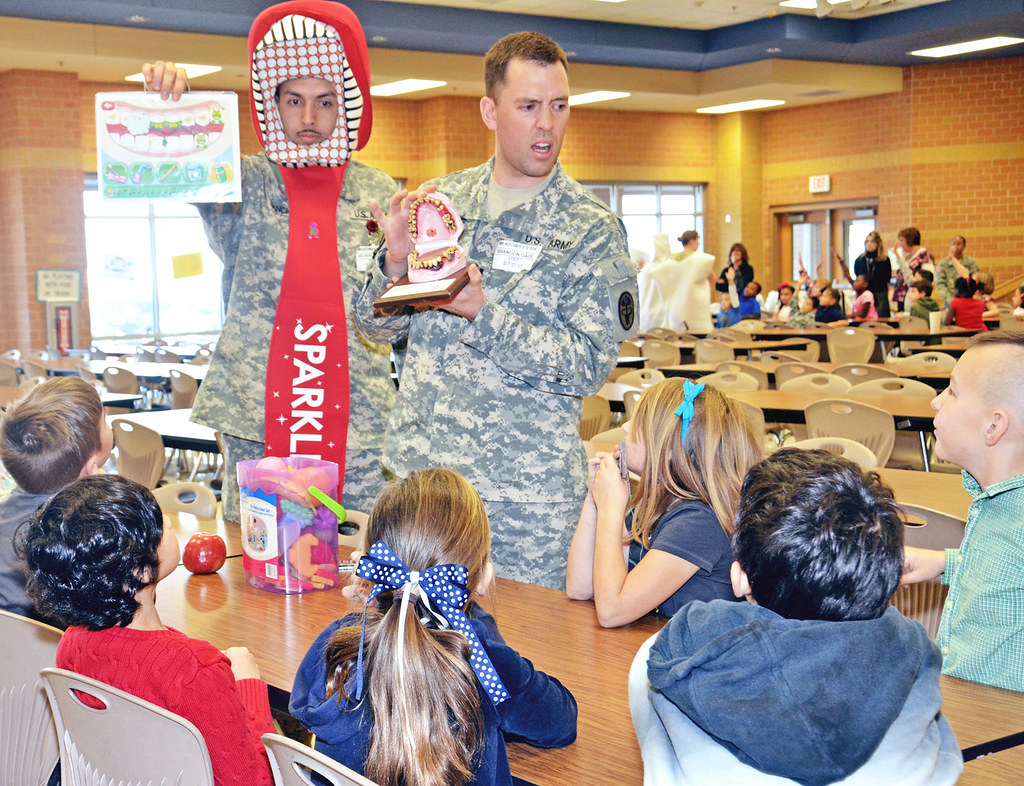 Fort Hood Dental Activity educates children