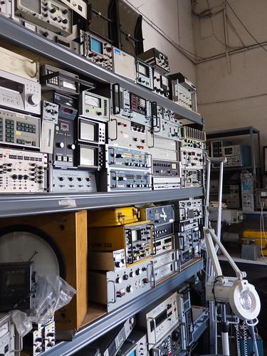 Electronics Test Equipment Supply : Surplus summit part two san diego mightyohm