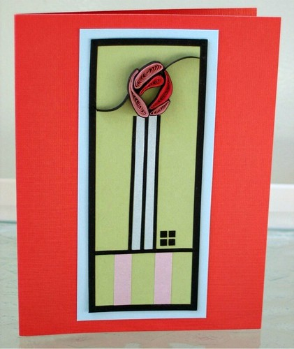 Rennie-Mackintosh-inspired-quilled-card
