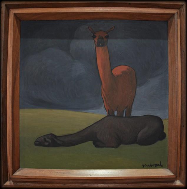 José Sabogal: Las Llamas