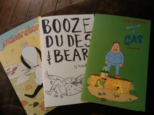 Booze, Dudes & Bears zine by Michael C. Hsiung