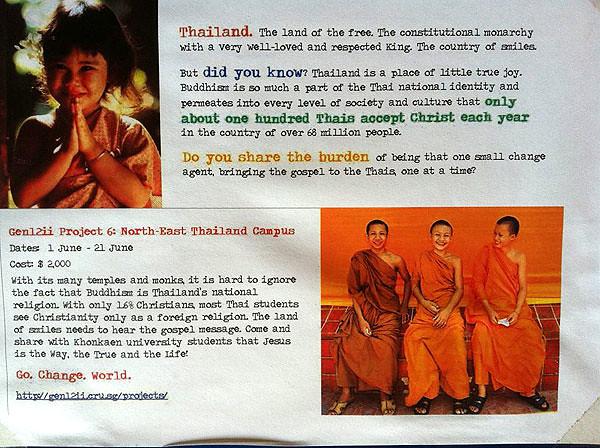 On Thailand