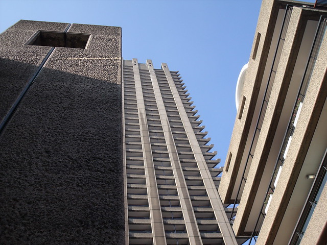 Shakespeare Tower from Frobisher Crescent