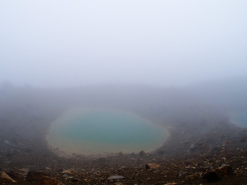 Barely Visible Emerald Lakes