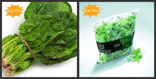 Buy This, Not That: Packaged vegetables vs. Whole vegetables