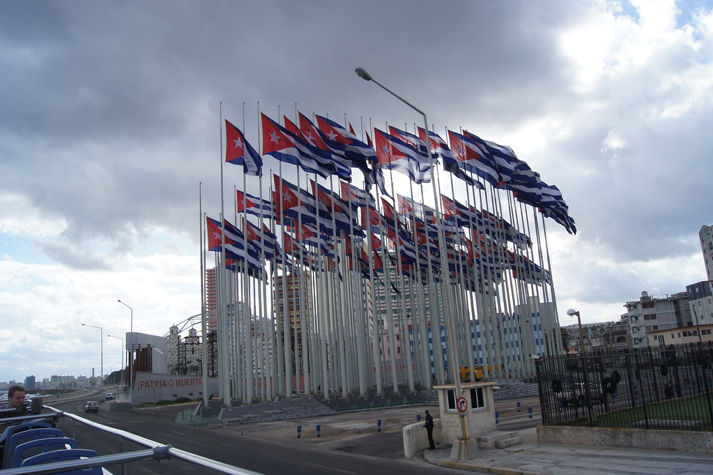 Mount of Flags in Anti-Imperialism Park