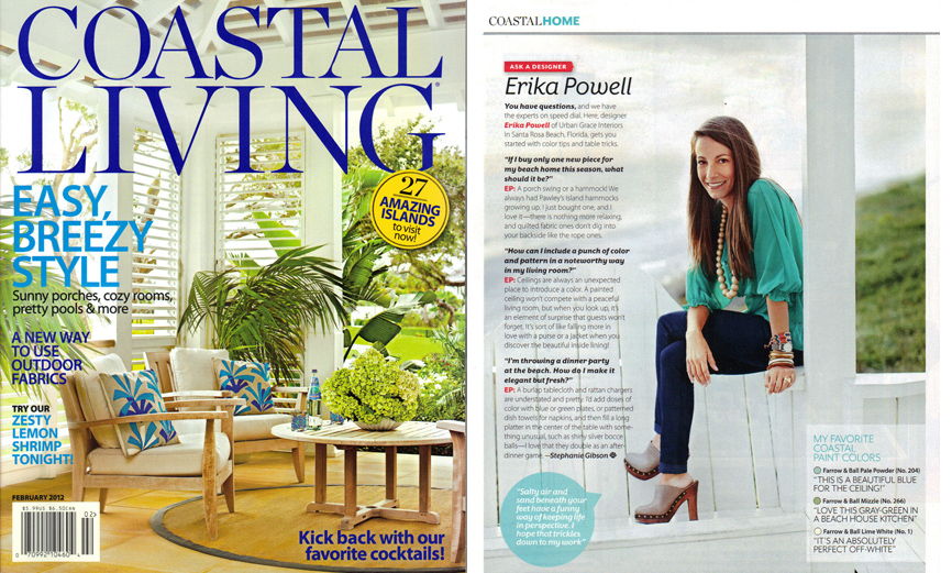 coastal living feb 2012