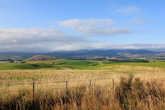 Canterbury-Otago border