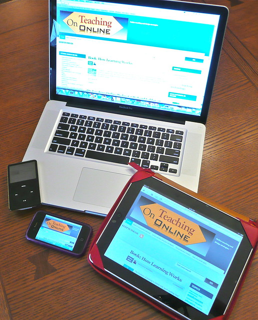 Teaching Online across devices