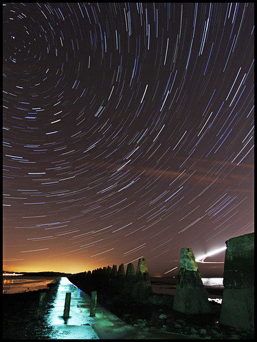 Cramond Island - Under the Stars