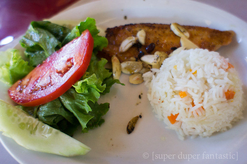 Meals in Costa Rica - Soda La Amistad - Monteverde