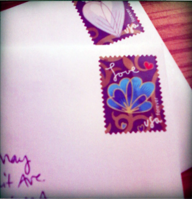 sending letters