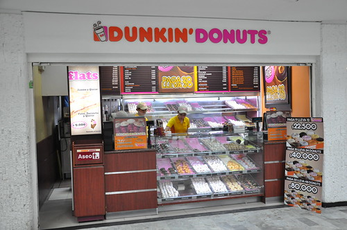 Colombian Dunkin Donuts Shop