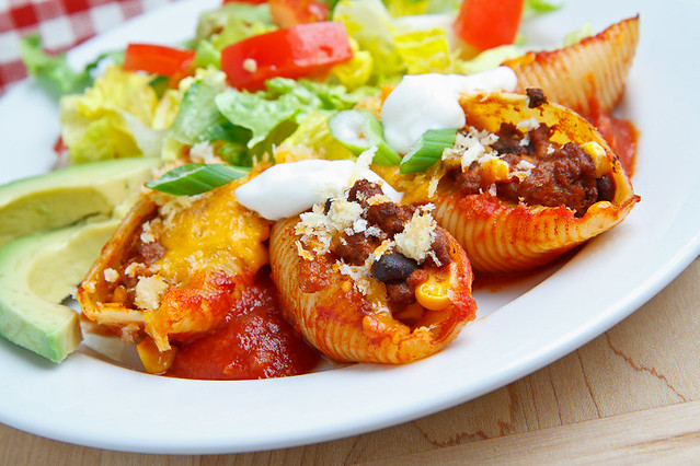 Taco Stuffed Shells | Flickr - Photo Sharing!
