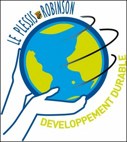 sustainability logo (by: Commune of Plessis-Robinson)
