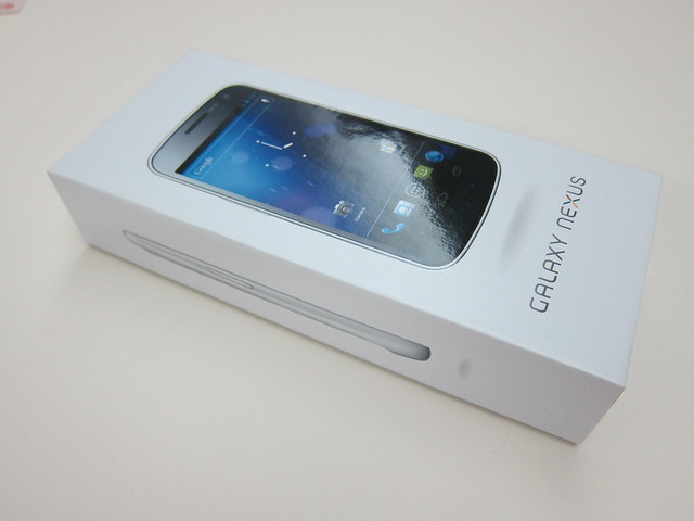 Galaxy Nexus - Box