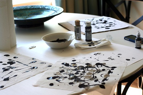 Homemade Inkblots
