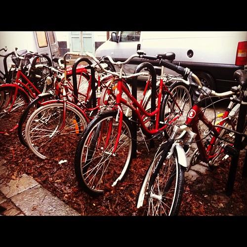 Röda cyklar