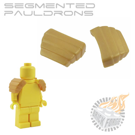 Segmented Pauldrons - Gold