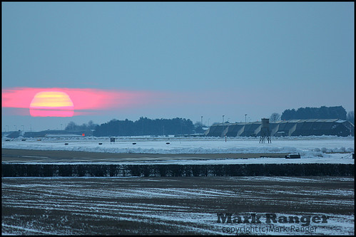 Freezing RAF Marham 10/02/2011