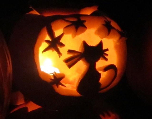 Kitty cat pumpkin carving flickr photo sharing