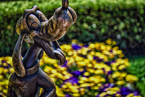 Frolicking With Pluto by hbmike2000