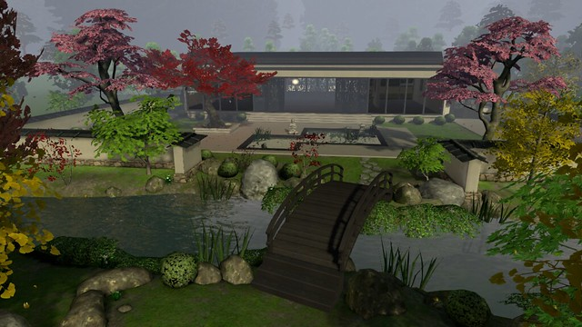 PlayStation Home_Plum Tree Pavilion