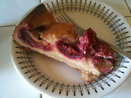 Plum cake 1
