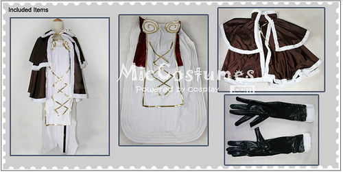 Ragnarok Online High Wizard Woman Cosplay Costume_2