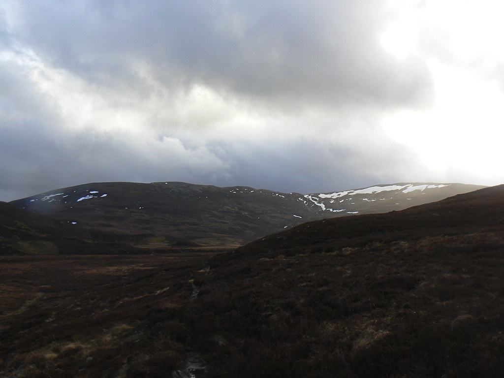Carn Liath from the Glen Gairn track