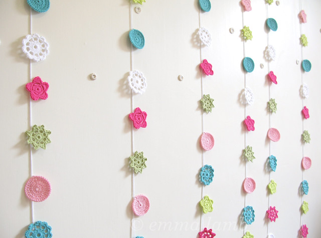 Sylvie - Special Edition 'Homespun Style' Forever Flower Garlands by Emma Lamb, colours handpicked by Selina Lake