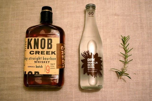 Knob Creek + Dry Vanilla Soda