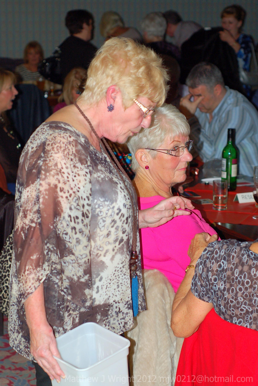 Brenda Morris at Cystic Fibrosis Fundraiser in Maghull
