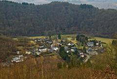 Vue sur le village de Frahan