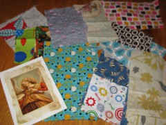 Mouthy Stitches scraps