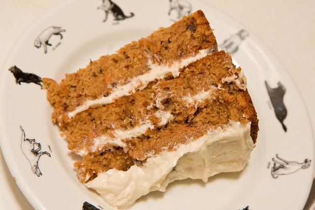 Carrot cake, Blossom Bakery