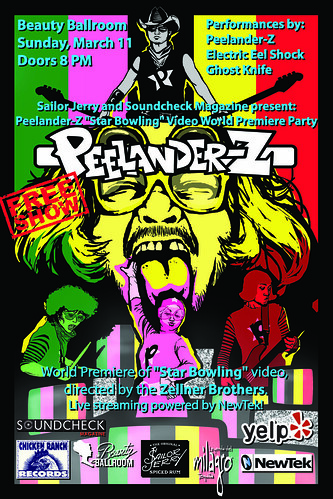 Peelander Video Release Party