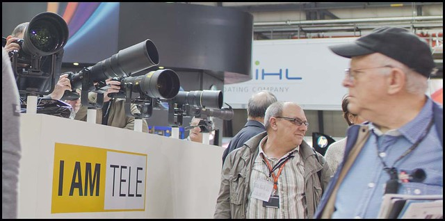 Nikon stand Focus On Imaging show Birmingham 2012