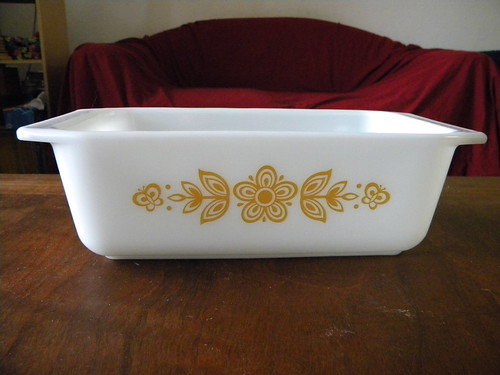 Butterfly Gold I Loaf Pan