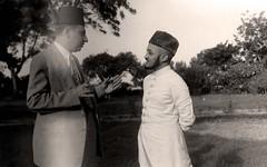 الاميري مع محمد بن محمد الزبيري  - اليمن - 1951
