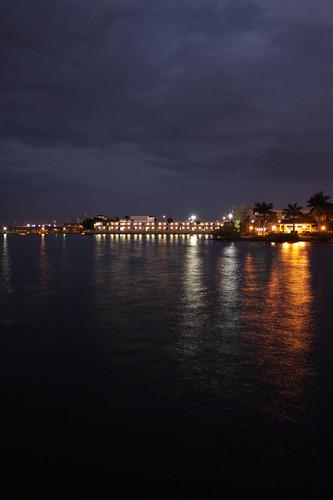 sunset sky gulfofmexico bay harbor florida puntagorda portcharlotte gulfcoast