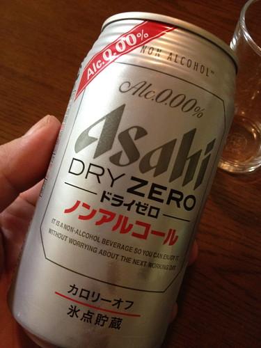 Asahi DRY ZERO 缶