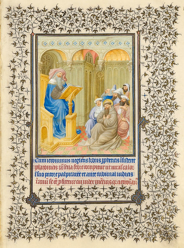 011- Belles Heures of Jean de France duc de Berry-Folio 183r - ©The Metropolitan Museum of Art