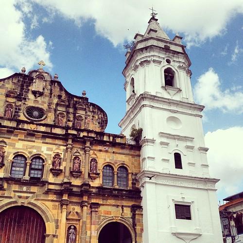 #colonial era #church in #cascoviejo #cascoantiguo #old #architecture #panamacity #panama #ciudaddepanama #centralamerica