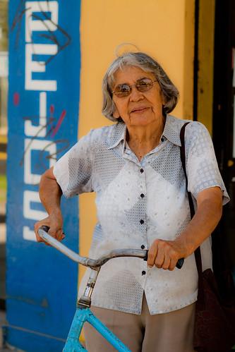 Alfonsina y la bici