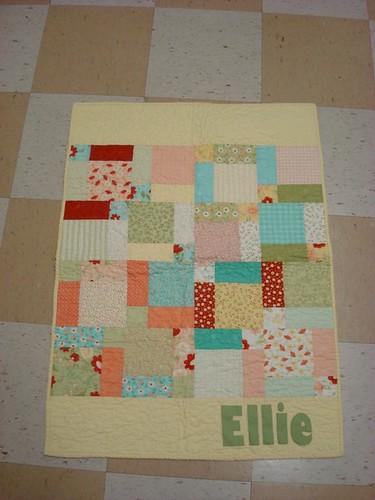 Baby Girl Ellie Quilt